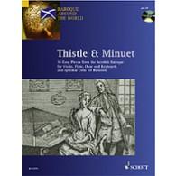 THISTLE AND MINUET VIOLON (OU FLUTE OU HAUTBOIS)