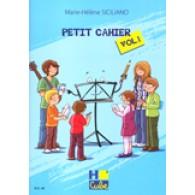 SICILIANO M.H. PETIT CAHIER VOL 1