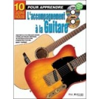 TURNER G. 10 LECONS FACILES: ACCOMPAGNEMENT A LA GUITARE