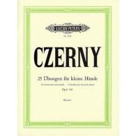 CZERNY K. 25 ETUDES POUR LES PETITES MAINS OP 748 PIANO