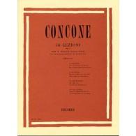 CONCONE G. 50 LEZIONI OP 9 CHANT PIANO