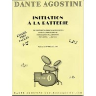 AGOSTINI DANTE INITIATION A LA BATTERIE VOL 0