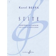 BEFFA K. SUITE PIANO OU CLAVECIN