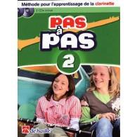 KASTELEIN J. PAS A PAS VOL 2 CLARINETTE