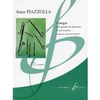 PIAZZOLLA A. 9 TANGOS QUATUOR CLARINETTES