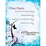 EDMUNDS-DAVIES P./ALLEY J. FLUTE DUET AVEC PIANO