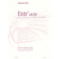 IBERT J. ENTR'ACTE FLUTE OU VIOLON