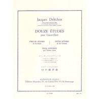 DELECLUSE J. ETUDES (12) CAISSE CLAIRE