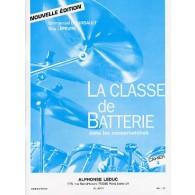 BOURSAULT E./LEFEVRE G. LA CLASSE DE BATTERIE CAHIER 4