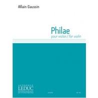 GAUSSIN A. PHILAE VIOLON SOLO