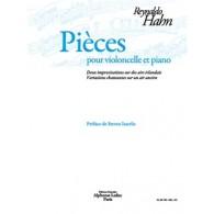HAHN R. PIECES VIOLONCELLE
