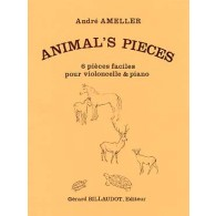 AMELLER A. ANIMAL'S PIECES VIOLONCELLE