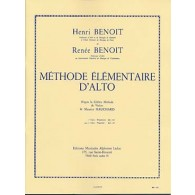 BENOIT H./BENOIT R. METHODE ELEMENTAIRE D'ALTO VOL 2