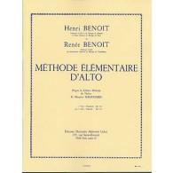 BENOIT H./BENOIT R. METHODE ELEMENTAIRE D'ALTO VOL 2