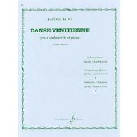 RONCHINI F. DANSE VENITIENNE VIOLONCELLE