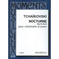 TCHAIKOVSKY P.I. NOCTURNE OP 19 N°4 VIOLONCELLE