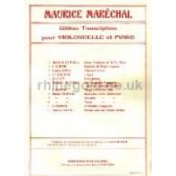 RAVEL M. PAVANE POUR UNE INFANTE DEFUNTE VIOLONCELLE