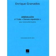 GRANADOS E. ANDALUZA N°5 VIOLONCELLE