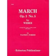 WEBER C.M. MARCH OP 3 N°5 VIOLONCELLE