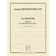 FROMONT-DELUNE J. LA FILEUSE VIOLONCELLE