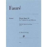 FAURE G. ELEGIE OP 24 VIOLONCELLE