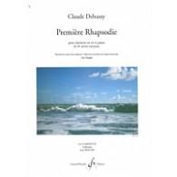 DEBUSSY C. 1RE RHAPSODIE CLARINETTE