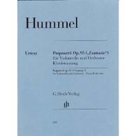 HUMMEL J.N. POTPOURRI OP 95 VIOLONCELLE