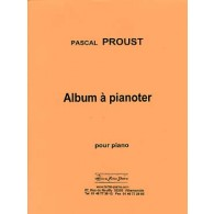 PROUST P. ALBUM A PIANOTER PIANO