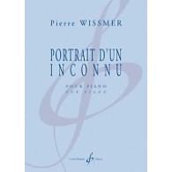WISSMER P. PORTRAIT D'UN INCONNU PIANO
