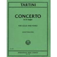 TARTINI G. CONCERTO RE MAJEUR VIOLONCELLE
