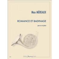MEREAUX M. ROMANCE ET BADINAGE COR