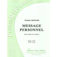 NAULAIS J. MESSAGE PERSONNEL TUBA BASSE