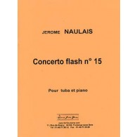 NAULAIS J. CONCERTO FLASH N°15 TUBA BASSE