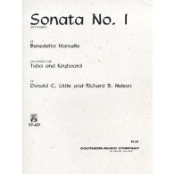 MARCELLO B. SONATE N°1 TUBA