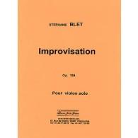 BLET S. IMPROVISATION VIOLON