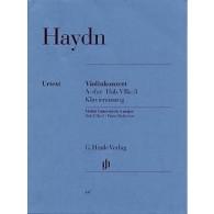 HAYDN J. CONCERTO HOBVIIA:3 LA MAJEUR VIOLON