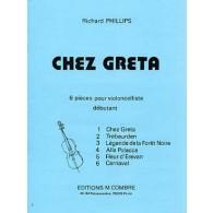 PHILLIPS R. CHEZ GRETA VIOLONCELLE