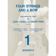 LOVELL J./PAGE P. FOUR STRINGS AND A BOW BOOK 1