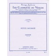 COUPERIN F. PETITE BOURREE VIOLON