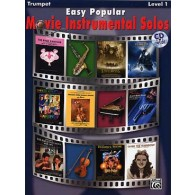 EASY POPULAR MOVIE INSTRUMENTAL SOLOS TRUMPET