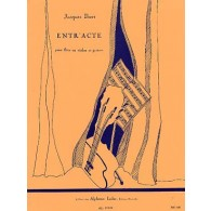 IBERT J. ENTR'ACTE FLUTE (OU VIOLON) ET GUITARE