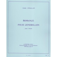 CHALLAN H. ROMANCE POUR CENDRILLON HARPE