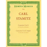 STAMITZ A. CONCERTO N°1 SOL MAJEUR VIOLONCELLE