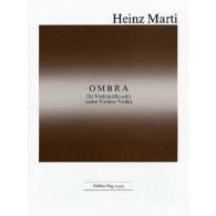 MARTI H. OMBRA VIOLONCELLE OU VIOLON OU ALTO