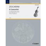 ZOCARINI M. CONCERTINI VOL 1 VIOLONCELLE
