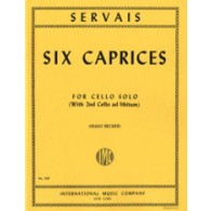 SERVAIS A.F. 6 CAPRICES VIOLONCELLE