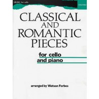 CLASSICAL AND ROMANTIC PIECES VIOLONCELLE
