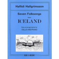 HALLGRIMSSON H. 7 FOLKSONGS ICELAND CELLO