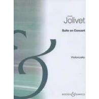 JOLIVET A. SUITE EN CONCERT VIOLONCELLE SOLO