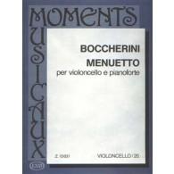 BOCCHERINI L. MINUET VIOLONCELLE